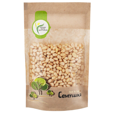 Кедровые орехи очищенные Семушка (150 гр.)
