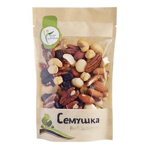 Смесь орехов с пеканом и макадамией Семушка (150 гр.)