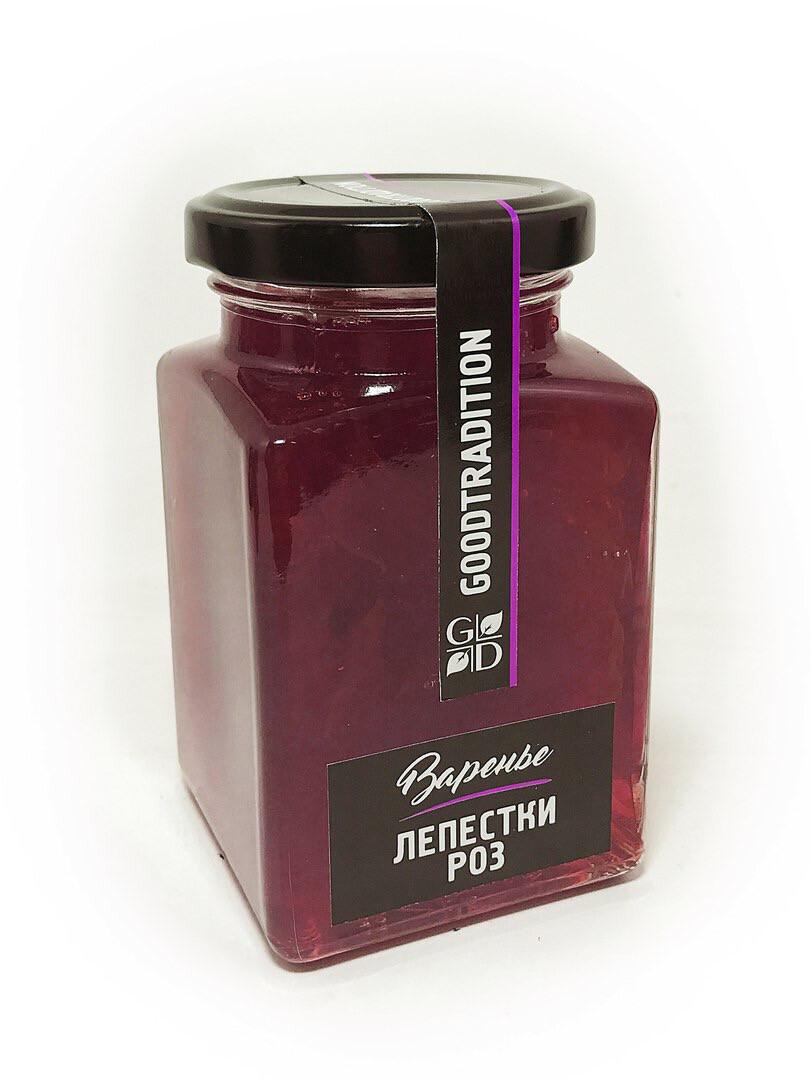 """Варенье лепестки роз """"Добрые традиции"""" (375 гр.)"""