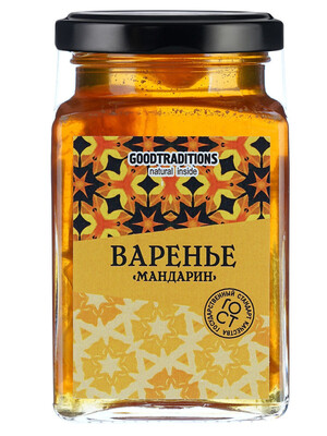 """Варенье мандарин """" Добрые традиции"""" (375 гр.)"""