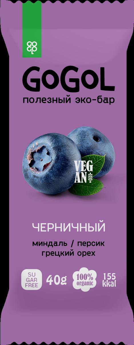 Батончик фруктовый GOGOL ЧЕРНИКА (40 гр.)