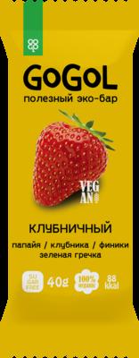 Батончик фруктовый GOGOL КЛУБНИКА (40 гр.)