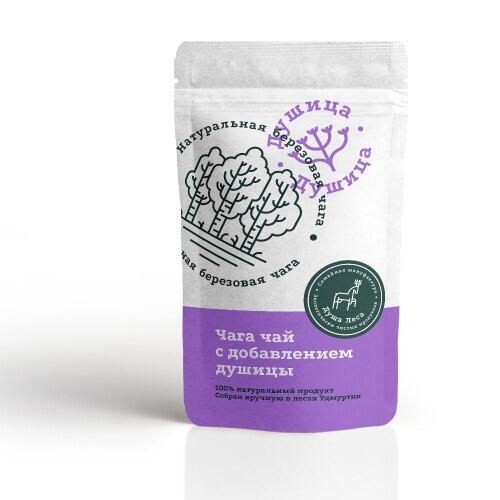 Чага чай с добавлением душицы (100 гр.)