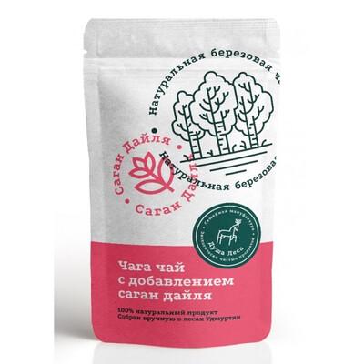 Чага чай с добавлением саган дайля (100 гр.)