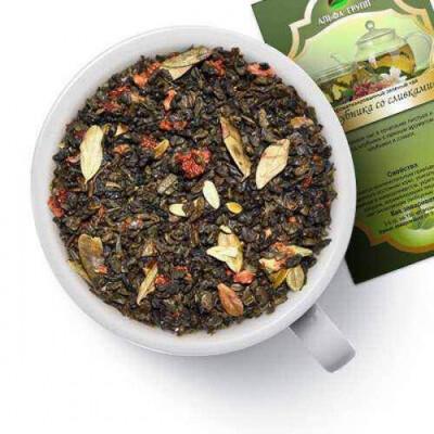 Чай «Клубника со сливками» 100гр