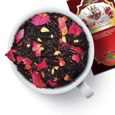 Чай «Бергамот и Роза» 100гр