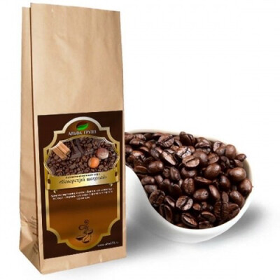 «Баварский шоколад» В ЗЁРНАХ 250гр