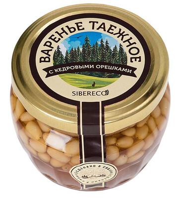 Варенье «Кедровое» с орешками 95мл