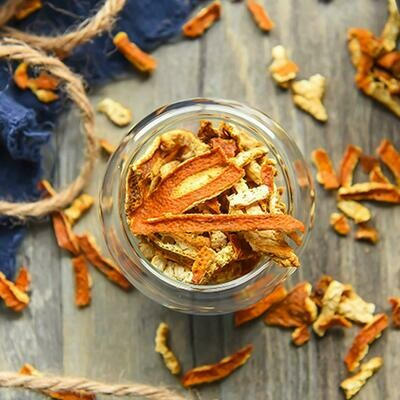 Цедра апельсина 1-2мм 50 гр/Арведа