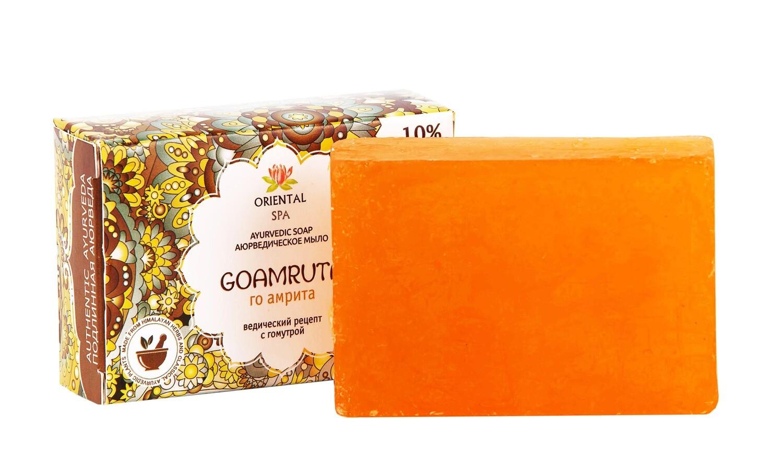 """Аюрведическое мыло """"GOAMRUTA"""" /100гр / Шри Ганга"""