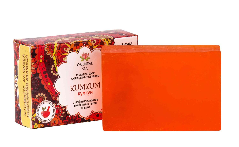 "Аюрведическое мыло ""KUMKUM"" /100гр / Шри Ганга"