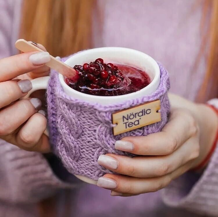 """Замороженный чай """"Nordic Tea"""" Смородина /Мелиса"""