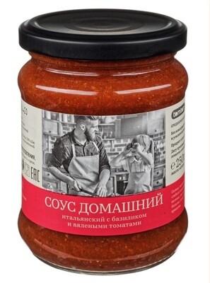 СОУС ДОМАШНИЙ итальянский с базиликом и вялеными томатами