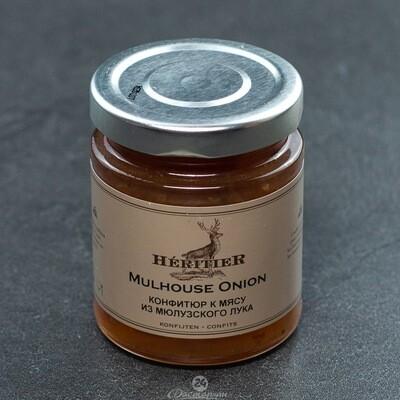 Конфитюр Heritier из из мюлузского лука к мясу / 180 г