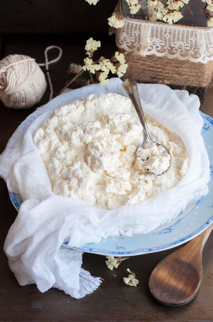 Творог из козьего молока/ 225 грамм