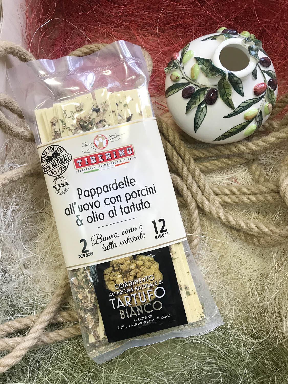 Паста паппарделле с белыми грибами и трюфельным маслом 200 г