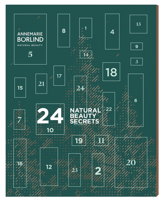Промонабор Календарь Annemarie Boerlind с миниатюрами (15 миниатюр продуктов)