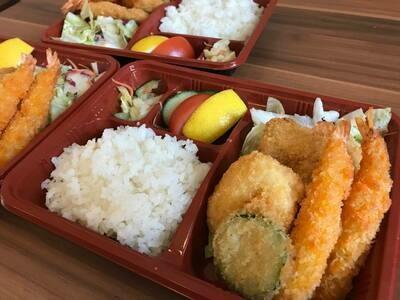 Japanese Bento with Miso soup 味噌汁付き