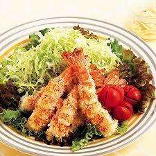 Hage Ebi Fry Salad エビフサラダ