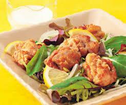 Hage Karaage Salad 唐揚げサラダ