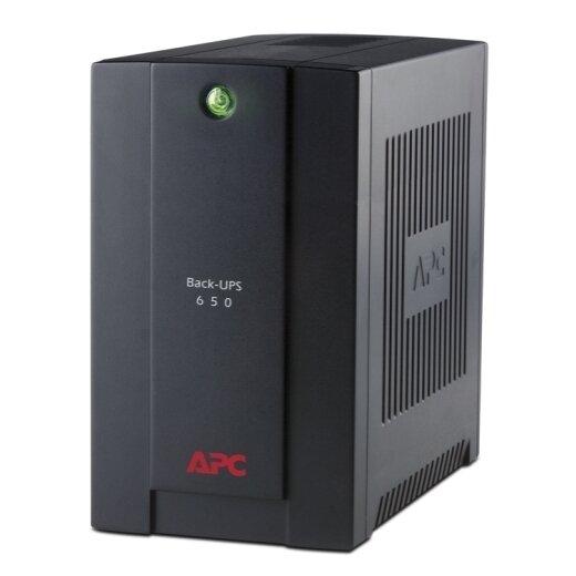 APC UPS Back 650VA, AVR, Schuko Outlets (BX650CI-RS)