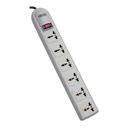 Tripp-Lite 6 universal outlets, 1.8m