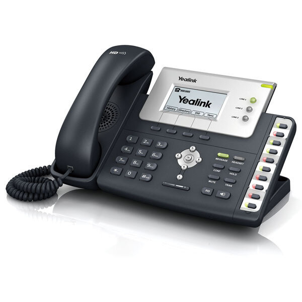 Yealink SIP-T26P Enterprise HD IP Phone with PoE, PSU
