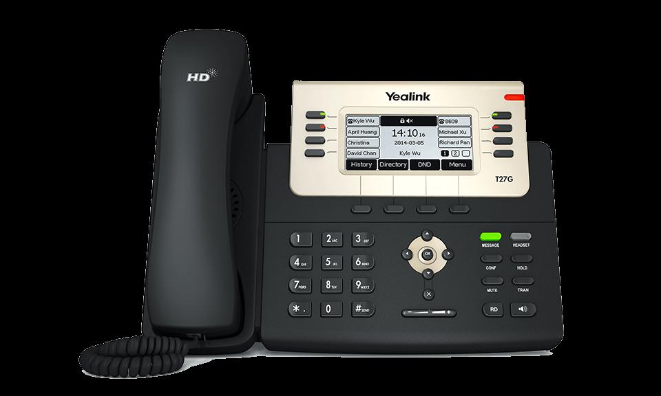 Yealink SIP-T27G Business IP Phone