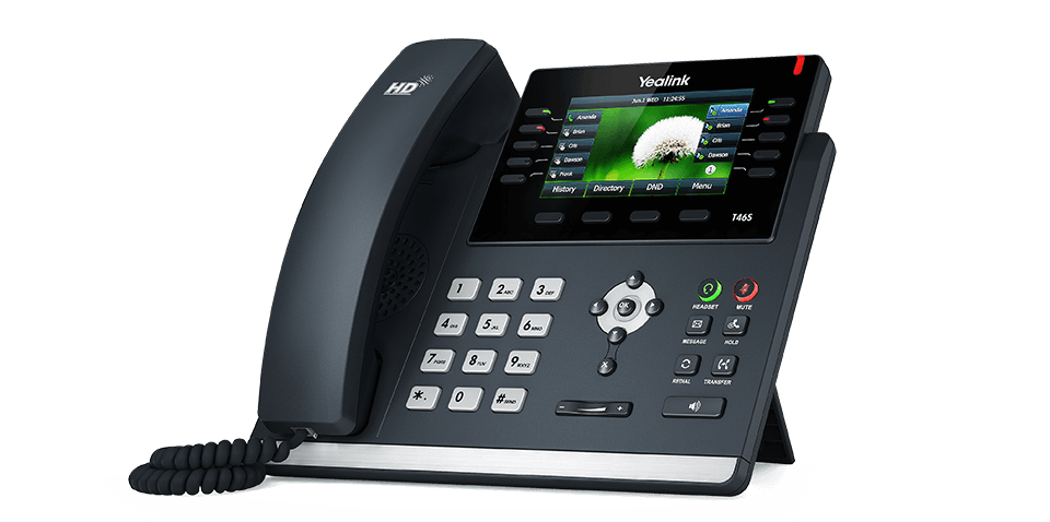 Yealink SIP-T46U Ultra-elegant Gigabit IP Phone without PSU