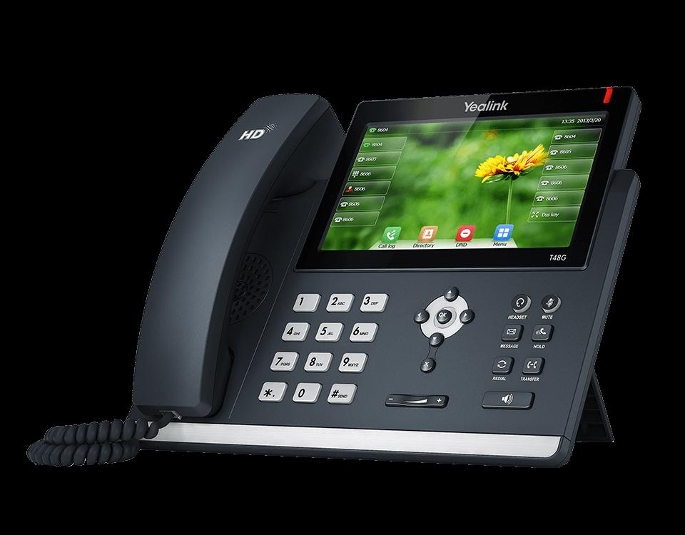 Yealink SIP-T48G Ultra-elegant Gigabit IP Phone w/o PSU