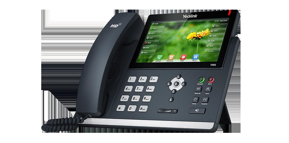 Yealink SIP-T48S Ultra-elegant Gigabit IP Phone w/o PSU