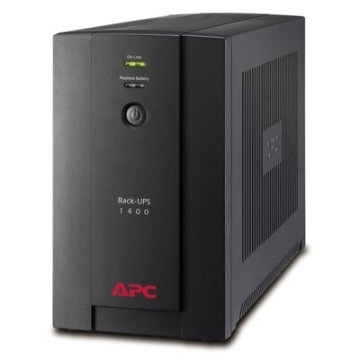 APC Back-UPS 1400VA/700W AVR