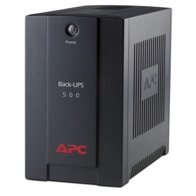 APC Back-UPS 500VA,AVR, IEC outlets