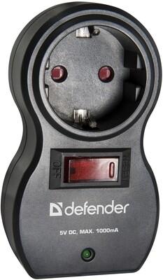 Surge protector Defender Voyage 100 1 outlet, 2 USB ports