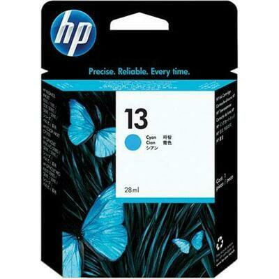 HP 13 Ink Cartridge, Cyan (C4815A)