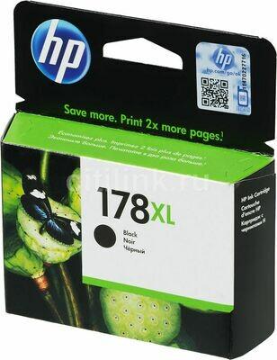 HP 178XL High Yield Black Original Ink Cartridge (CN684HE)