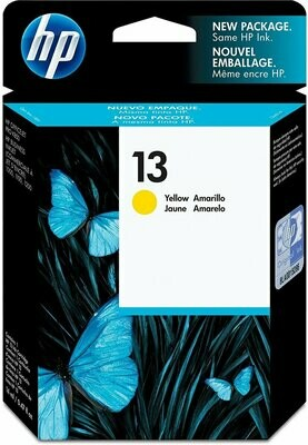 HP 13 Ink Cartridge, Yellow (C4817A)