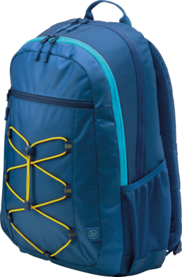 HP 15.6 Active Blue/Yellow Backpack