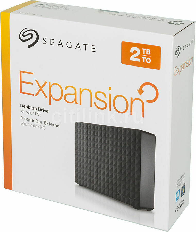 External Seagate 2Tb 3.5'' USB3.0 Black