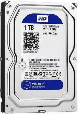WD Blue 1TB 3.5 64MB 5400RPM SATA