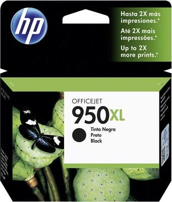HP 950XL High Yield Black Original Ink Cartridge (CN045AE)
