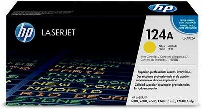 HP Color LaserJet Yellow Print Cartridge (Q6002A)