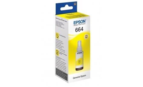 EPSON 664 Yellow ink bottle 70ml