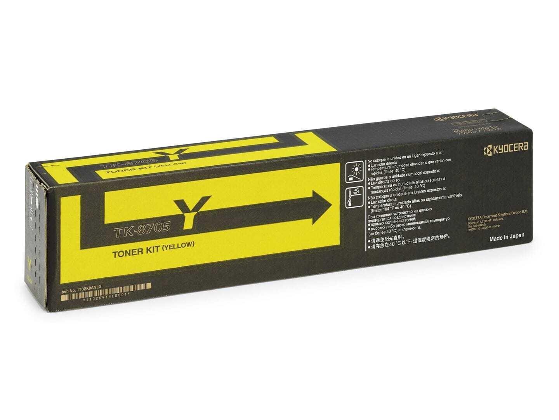 Kyocera TK-8705Y Yellow Toner