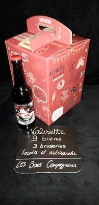 Valisette cadeau 9 bières