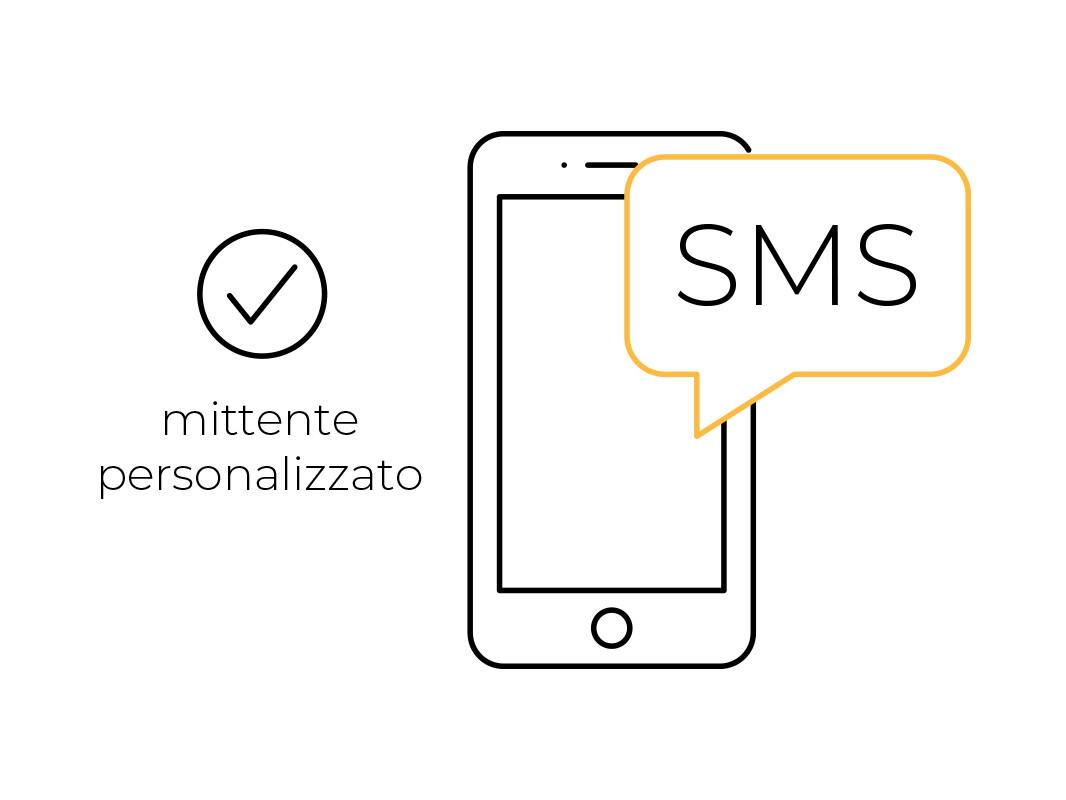 10.000 SMS ALTA QUALITA' MITTENTE PERSONALIZZATO