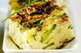 Zucchini, thyme, fetta & paprika Frittata