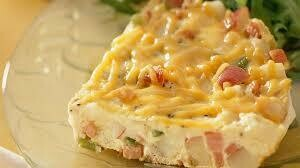 Ham & Cheddar Frittata
