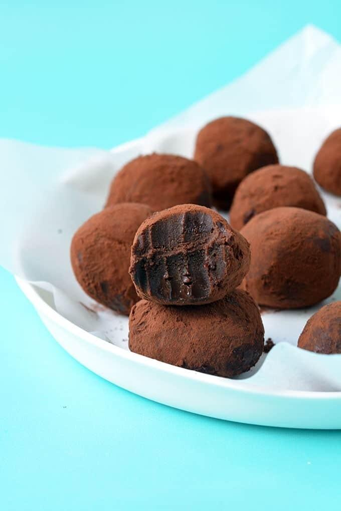 Homemade Chocolate truffles (4 balls)