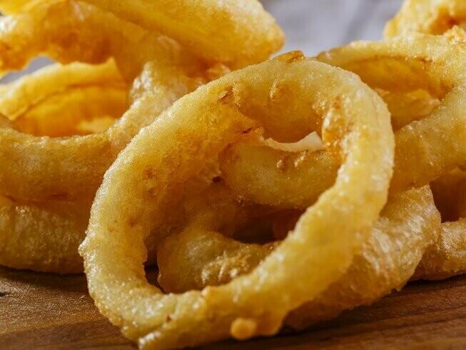 Battered Onion Rings